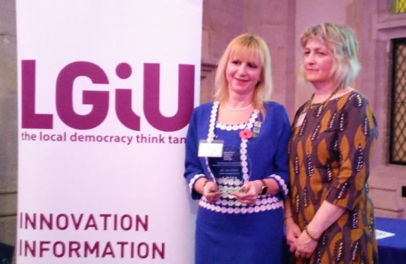 Dementia Champion' Cllr Lisa Rutter wins at 2016 Local